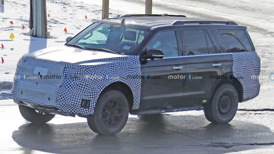 2022 Ford Expedition Spied With Off-Road Upgrades, Could Be Timberline