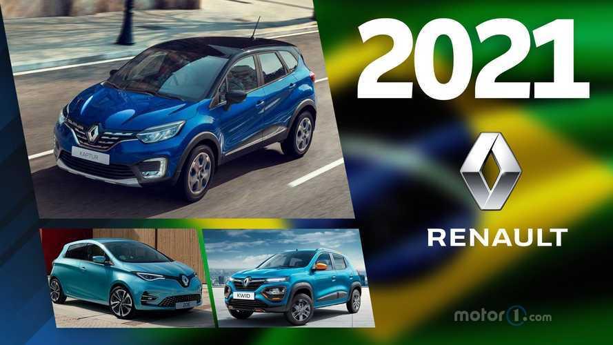 Renault: os lançamentos previstos para 2021 no Brasil