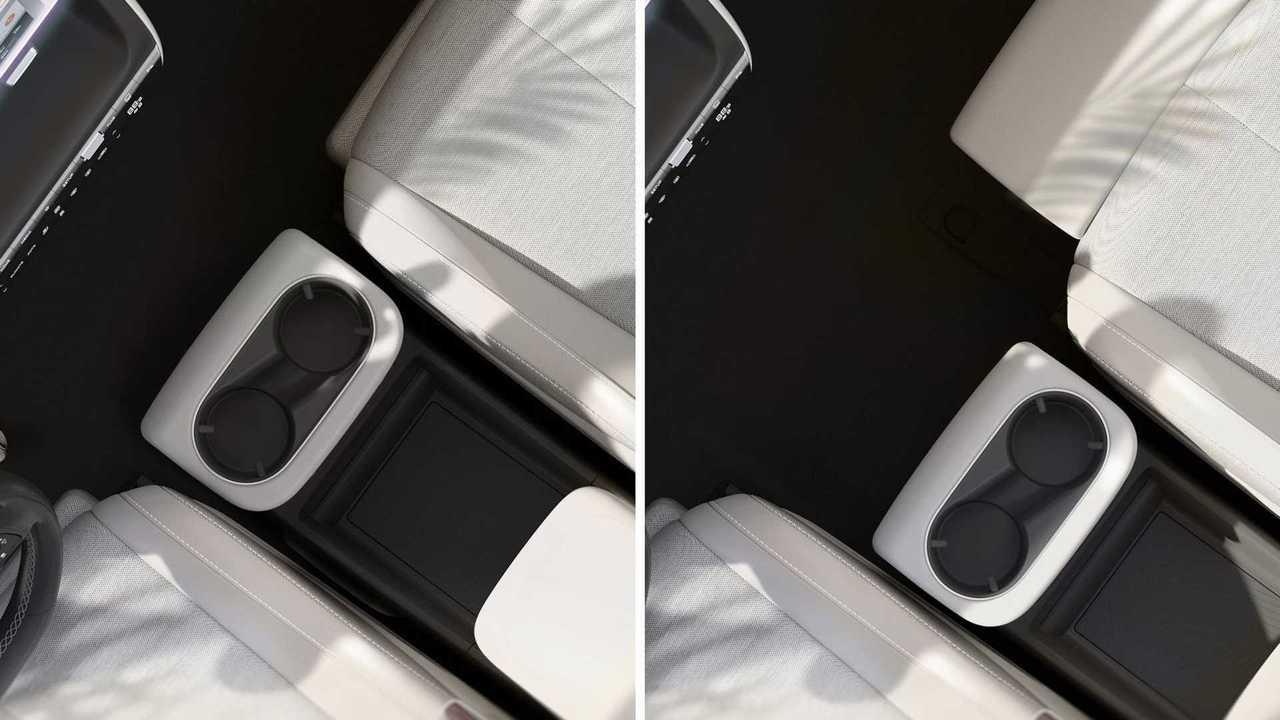 Hyundai zeigt erste Bilder vom Cockpit des Ioniq 5 mit verschiebbarer Mittelkonsole
