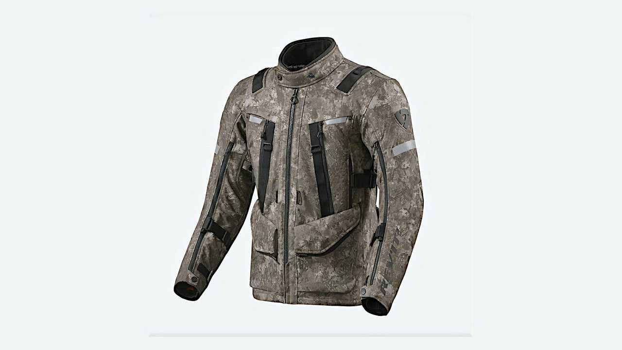 REV'IT! Jacket Sand 4 H2O - Camo Brown - Front