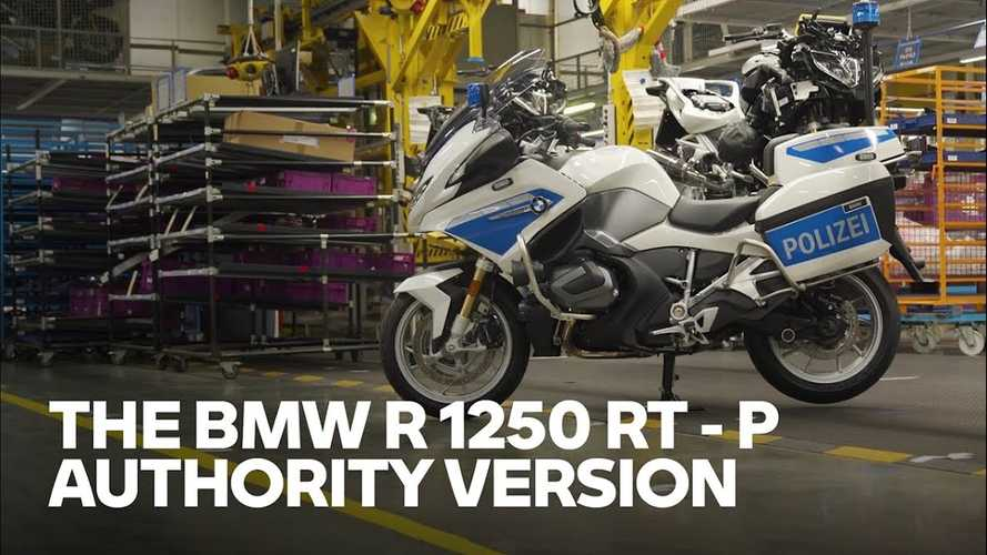 2021 BMW R 1250 RT-P Video Hints At Backlit Controls For All RTs