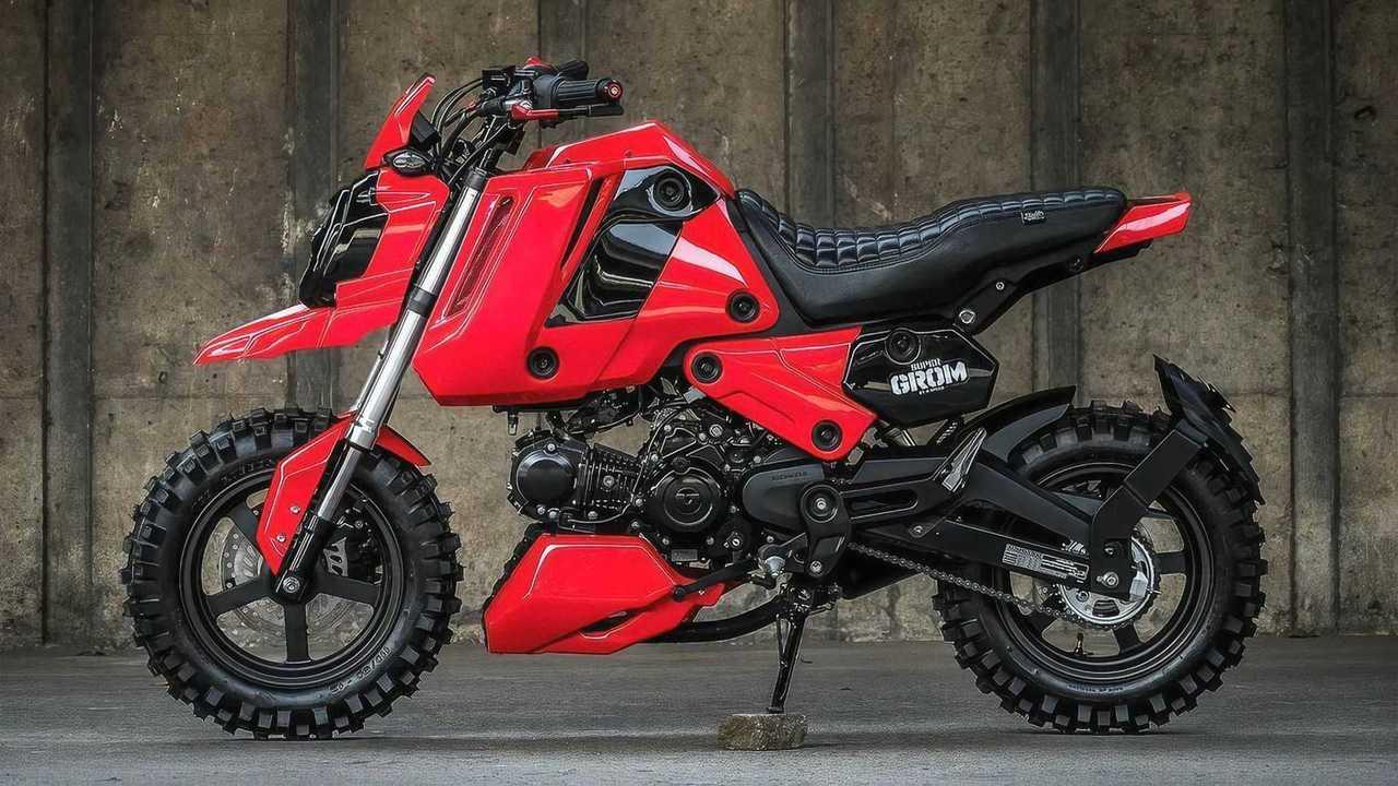 K-Speed Customs Honda Super Grom - Left Side