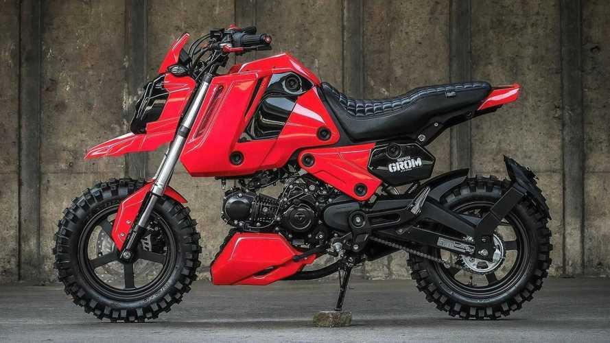 Kecil tapi Sangar, Perkenalkan Honda Grom Kustom dari K-Speed Thailand