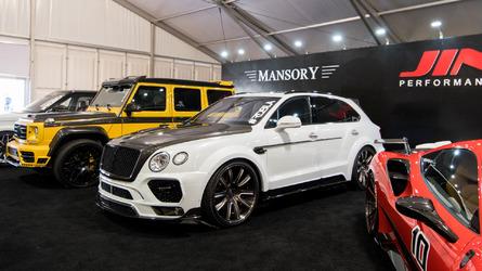 Konu SEMA olunca Bentley Bentayga bile güvende değil