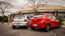 Comparativo Onix Joy Vs. Gol Trendline: Disputa racional