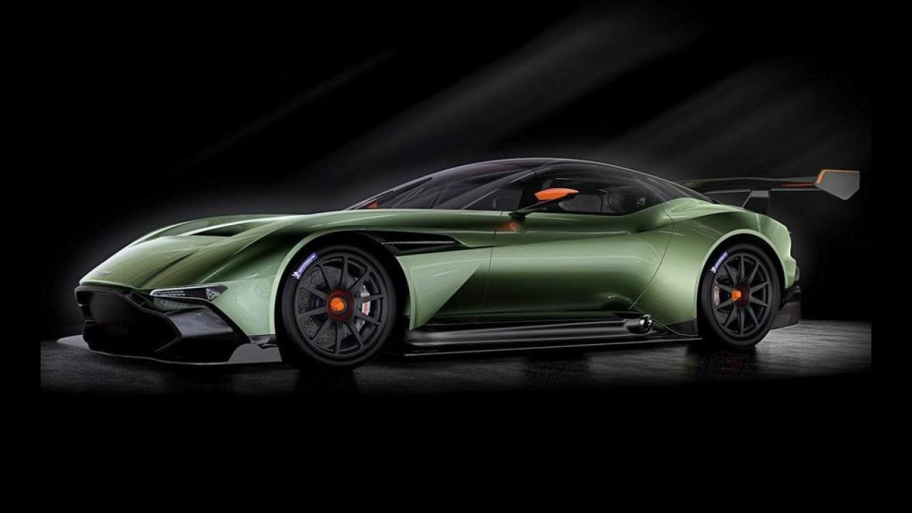 Aston Martin revela Vulcan, rival de LaFerrari FXX K e P1 GTR - veja fotos