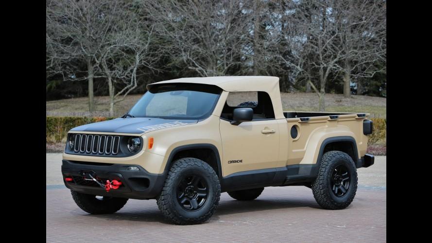 Conheça o Jeep Comanche, uma curiosa picape baseada no Renegade