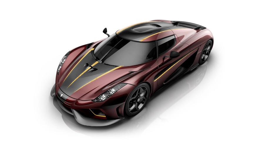 Koenigsegg'in ikinci Regera'sı Fransız şarabına selam veriyor