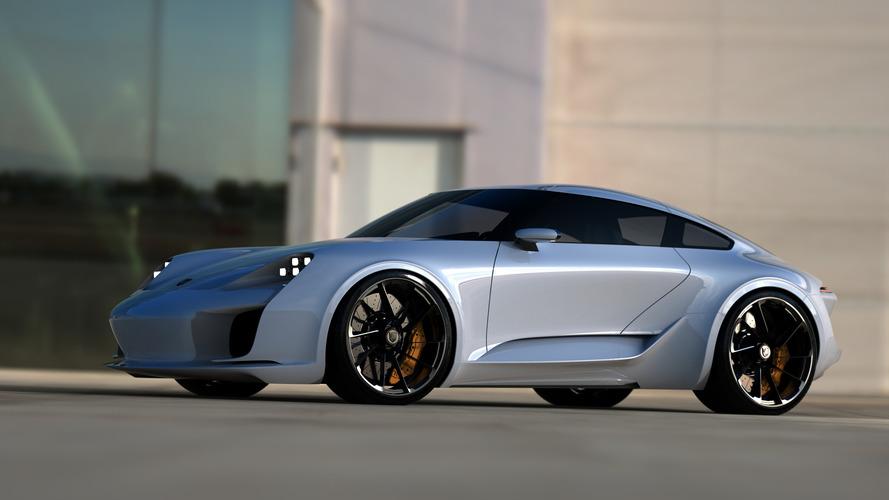 Bugatti Chiron tasarımcısından Porsche 911 çalışması