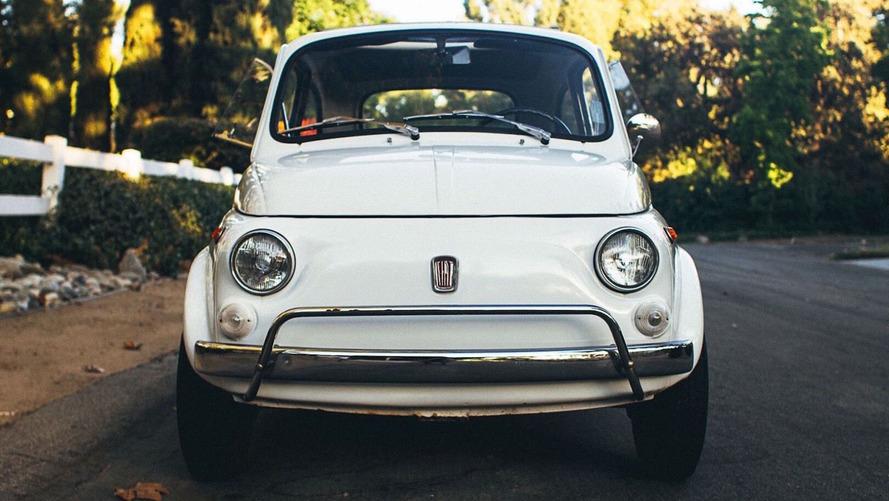 Une magnifique Fiat 500 de 1971 est disponible sur Ebay