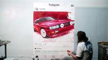 Audi ur-Quattro sanat çalışması