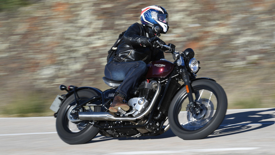 First Ride: 2017 Triumph Bonneville Bobber