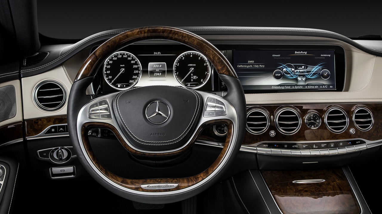 2018 Mercedes S Class Interior Indirectly Revealed