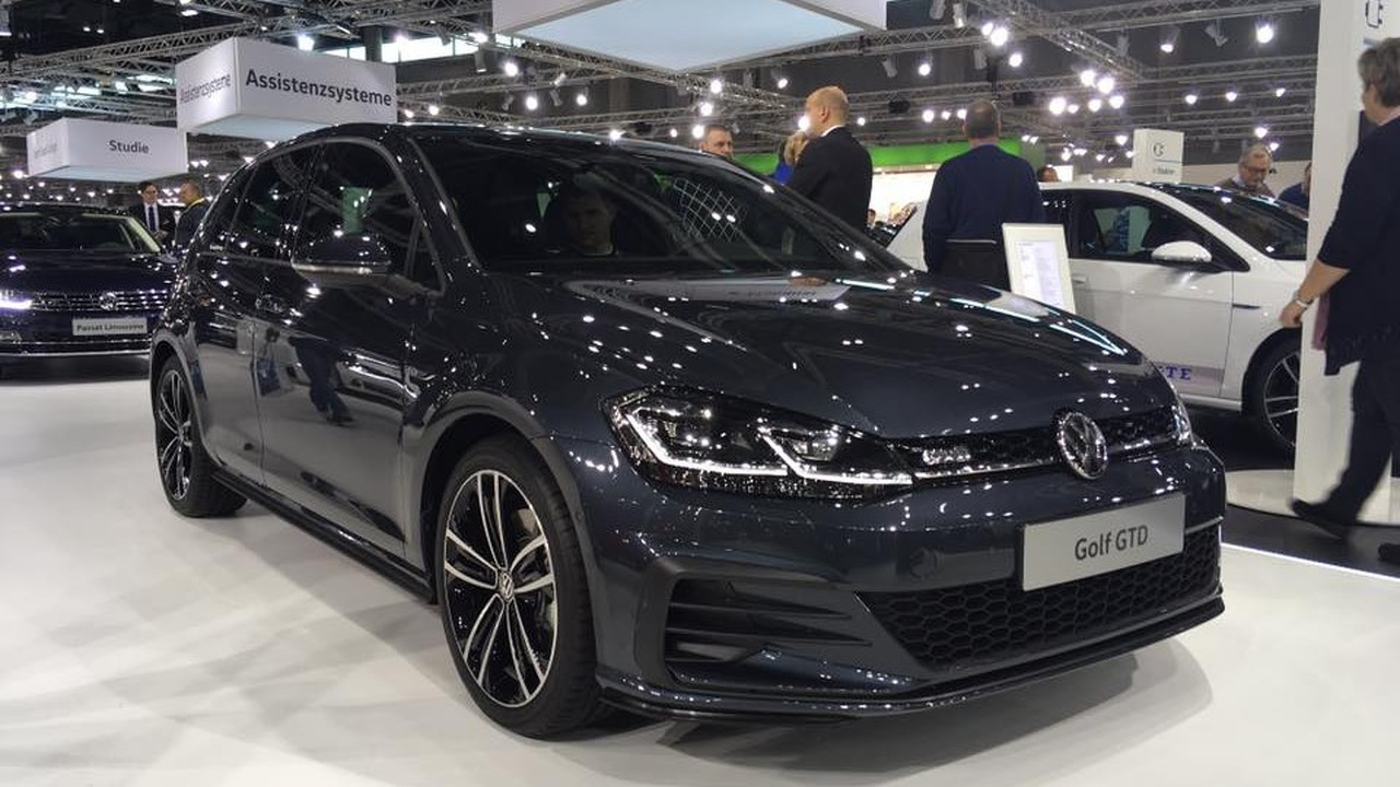 2017 VW Golf GTD facelift