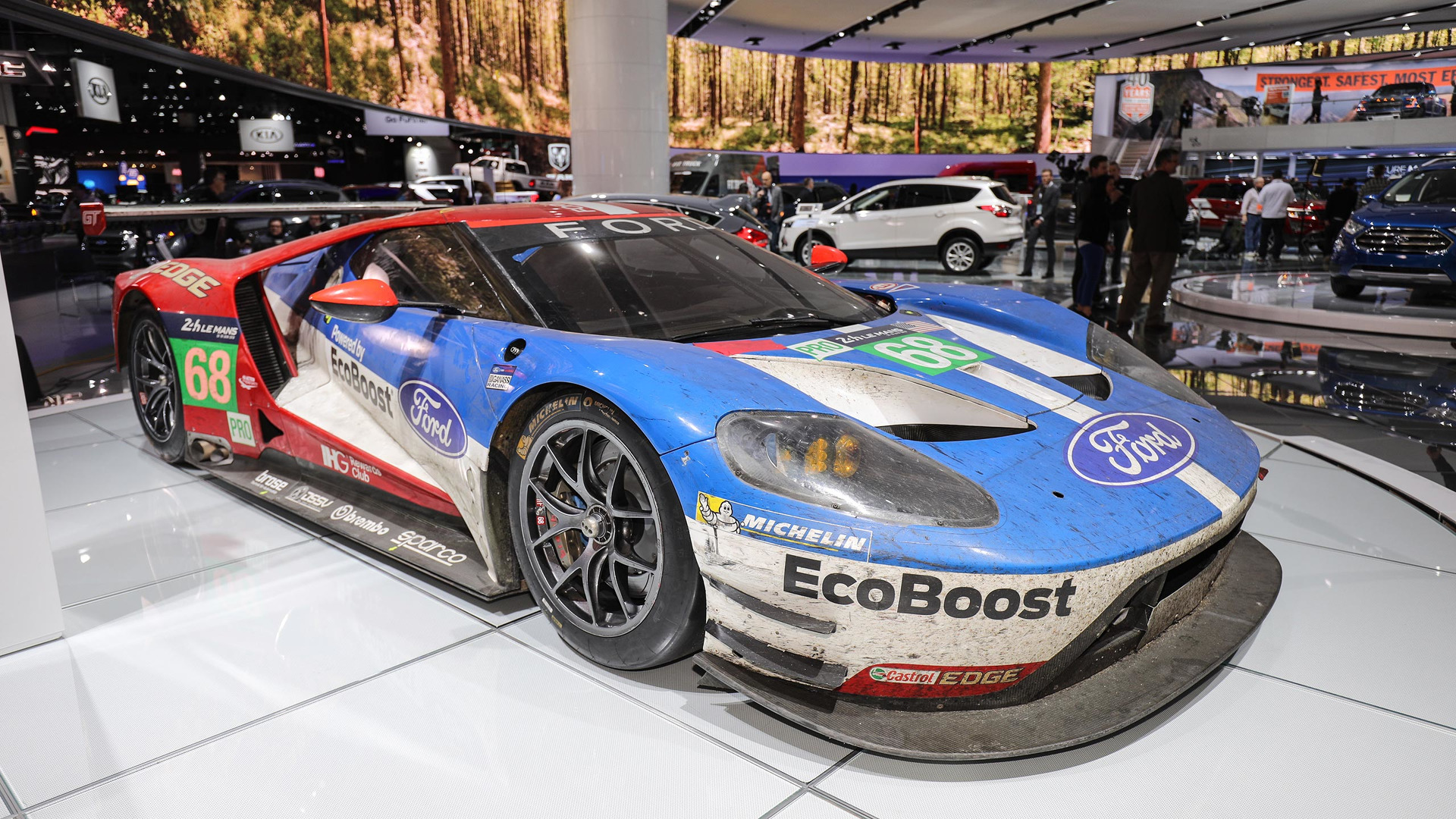 Check Out All The Race Cars At The Detroit Auto Show - Show all cars