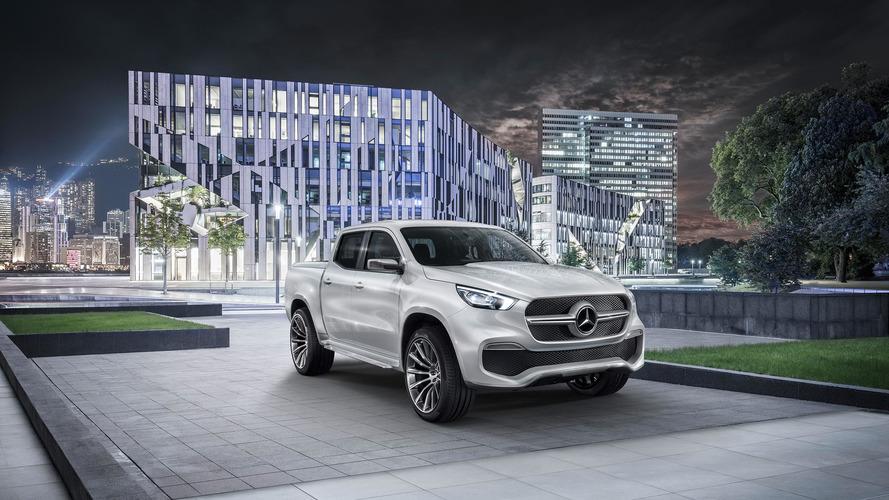 Picape Mercedes Classe X tem presença confirmada no Salão de Genebra