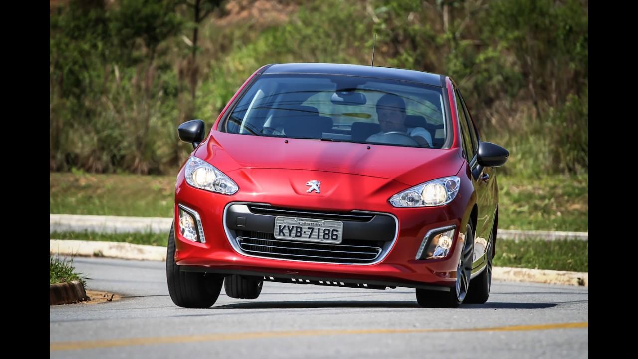 Peugeot 308 e 408 têm 4 mil unidades envolvidas em recall por risco de incêndio