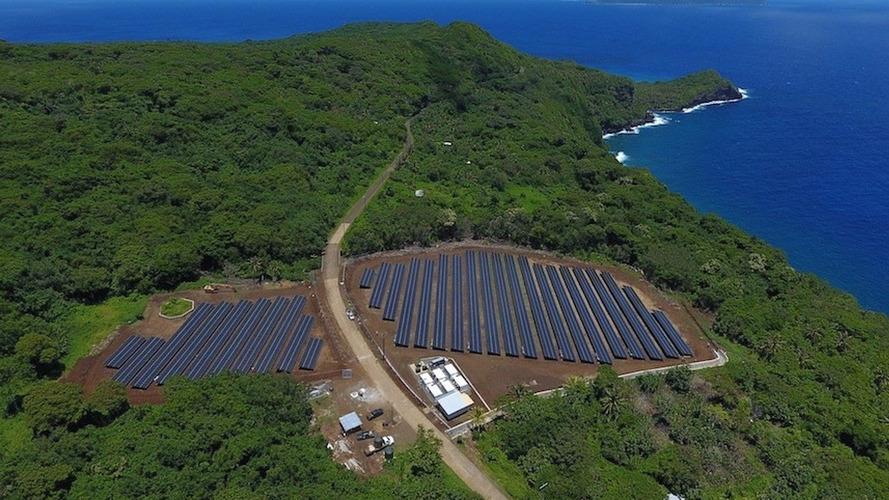 Tesla alimente une île en électricité