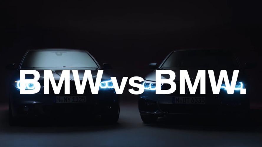 Comparaison vidéo des BMW Série 5 G30 et F10