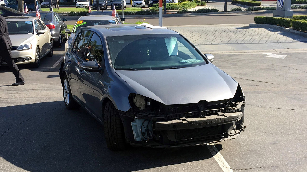 Stripped VW Golf TDI buyback