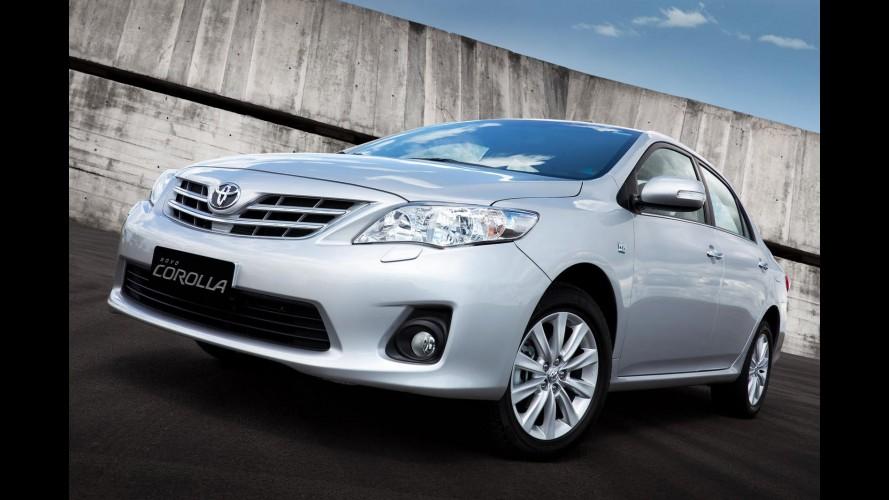 Recall: Toyota convoca 80 mil unidades de Corolla, Rav4 e Camry no Brasil