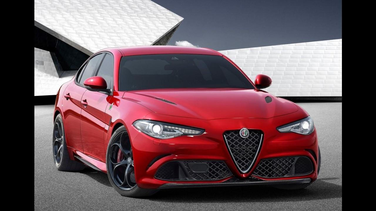 Alfa Romeo diz que não se inspirou no Série 3 para fazer o novo Giulia