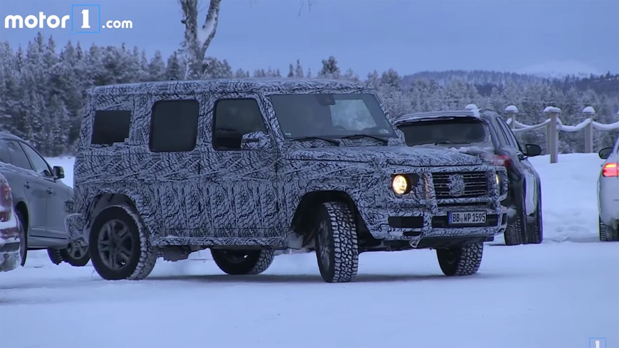 Mercedes Confirms New G-Class Will Keep Its Boxy Shape