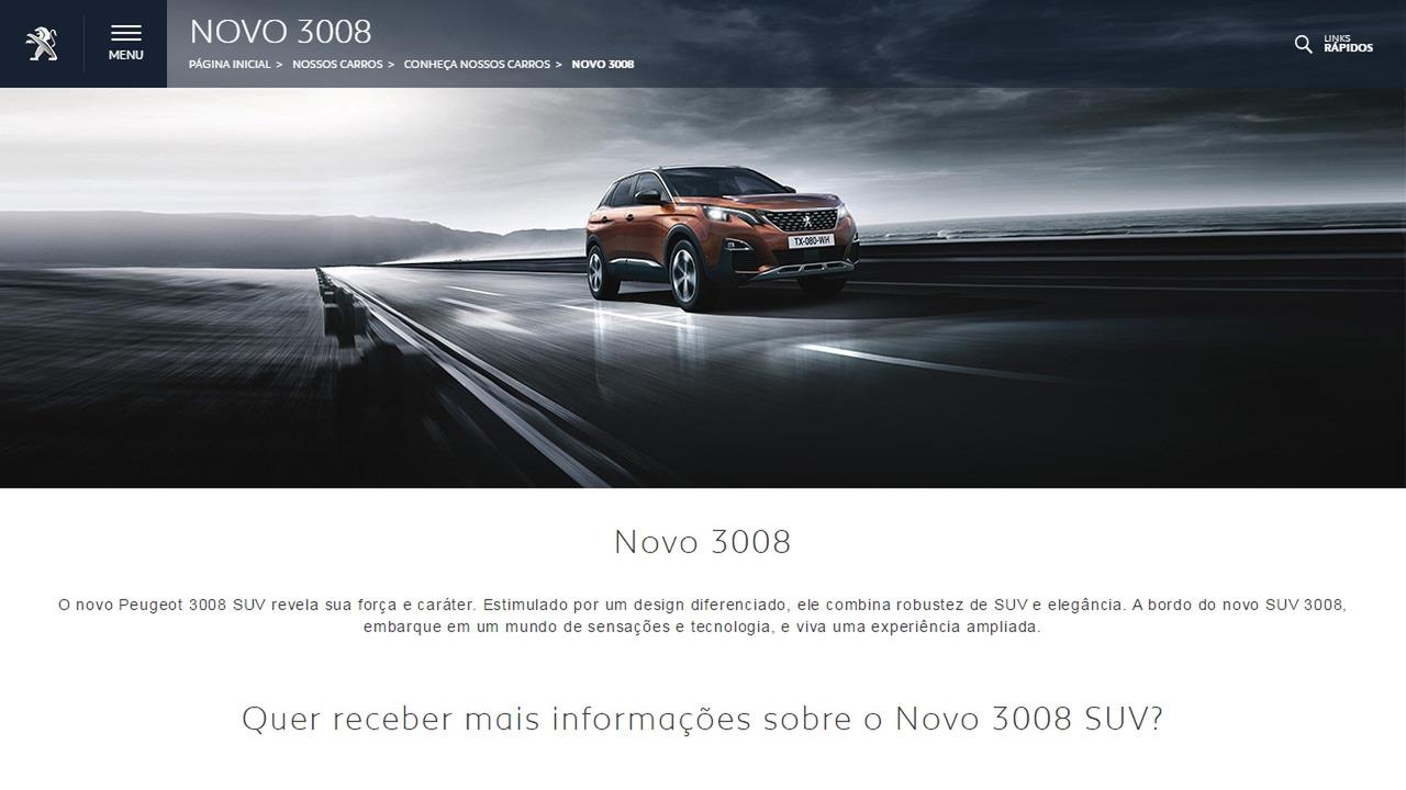 Peugeot 3008 site