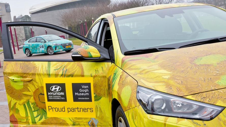 Hyundai Ioniq Musée Van Gogh