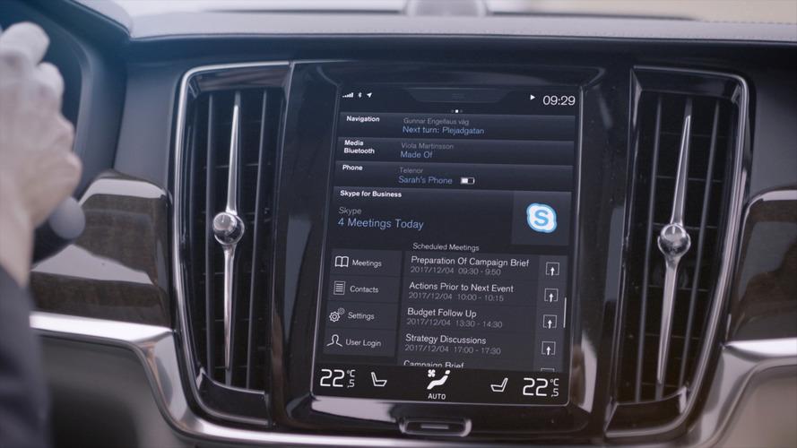 Volvo é a primeira marca a colocar Skype em seus carros