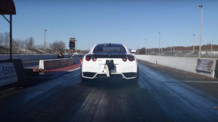 1/4 de mile : nouveau record pour une (autre) Nissan GT-R !