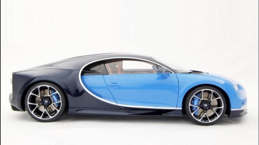 Bugatti Chiron, quella