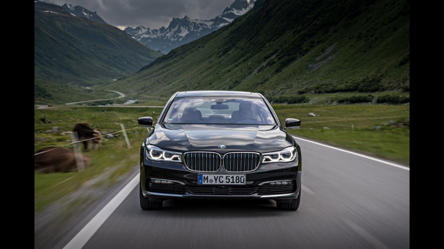 BMW 740Le xDrive, ibrida plug-in oltre il lusso