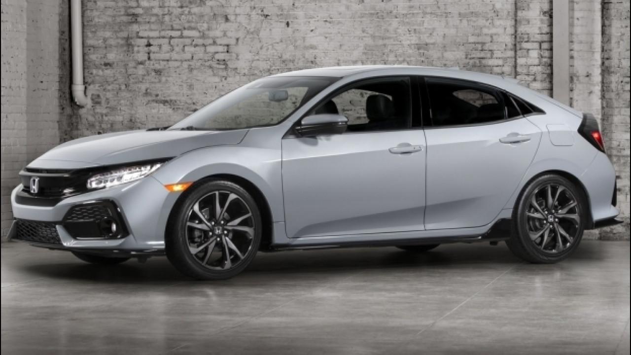 [Copertina] - Honda Civic, ecco la decima generazione