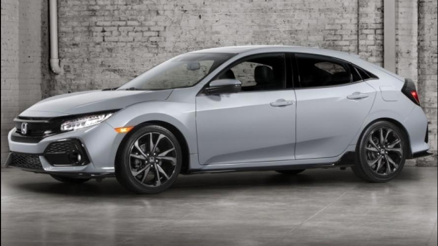 Honda Civic, ecco la decima generazione