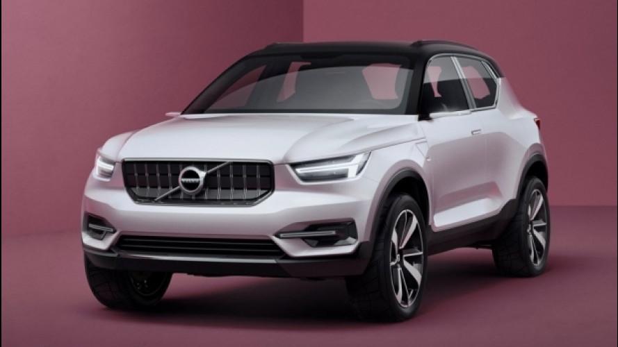 Volvo XC40, il nuovo SUV compatto sarà svelato in autunno