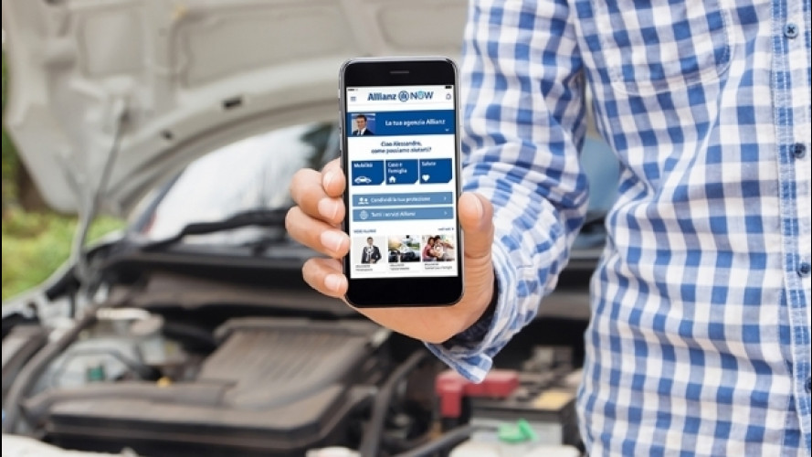 AllianzNOW, l'app che gestisce l'emergenza