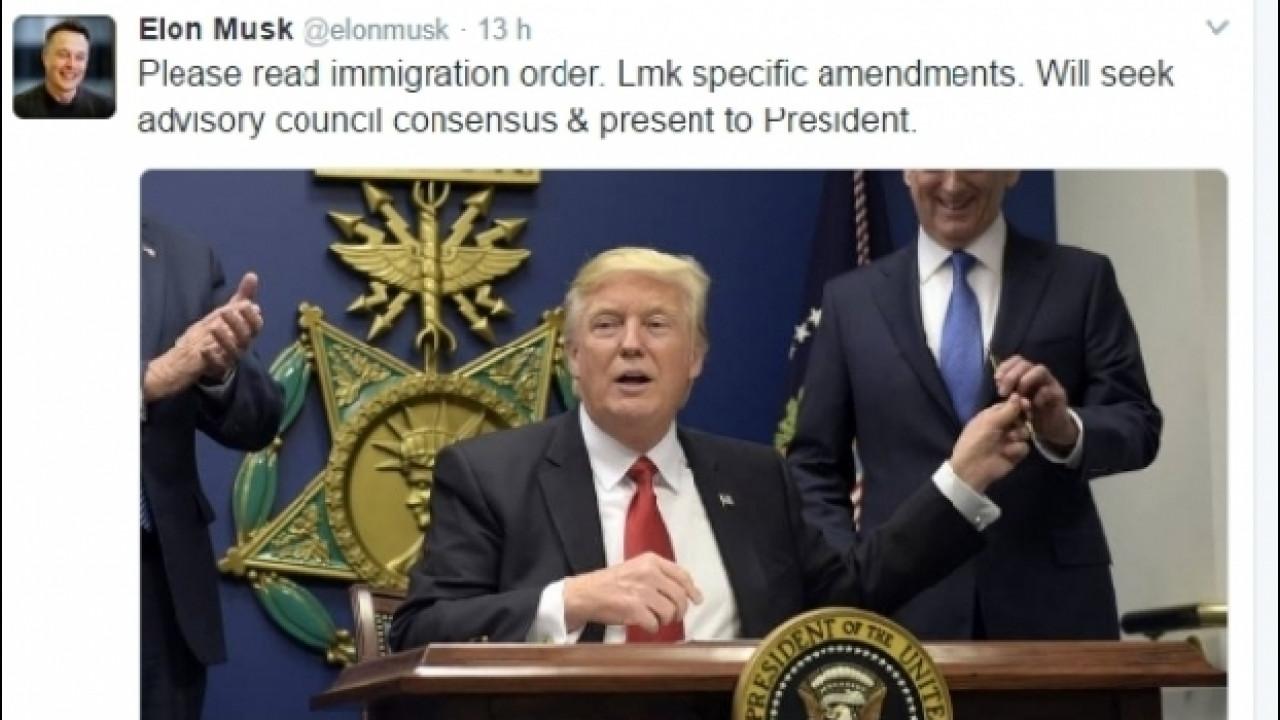 [Copertina] - Il CEO di Tesla prova ad ammorbidire Trump sull'immigrazione