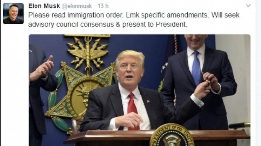 Il CEO di Tesla prova ad ammorbidire Trump sull'immigrazione