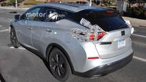 Nissan Murano Refresh Spy Shots