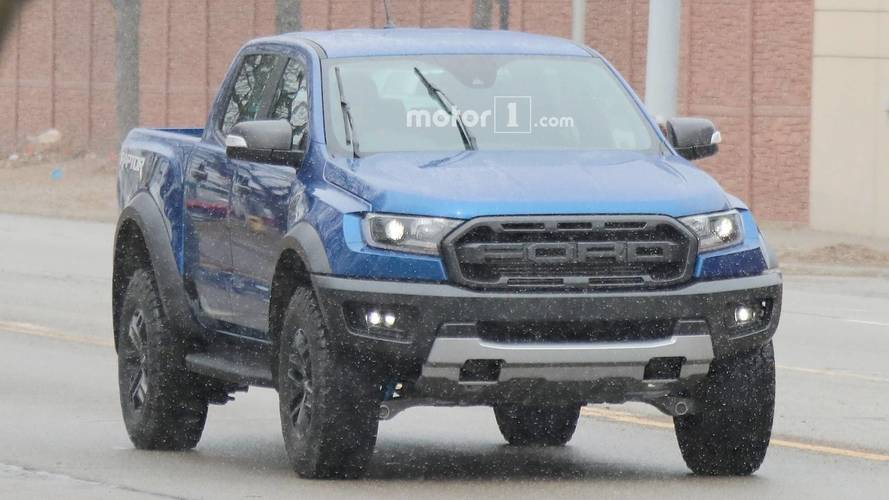 Ford Ranger Raptor Spotted Testing On American Soil