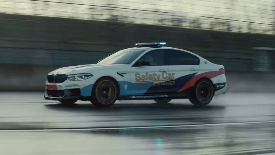 BMW M5 With M Performance Parts Gets High-Speed Promo