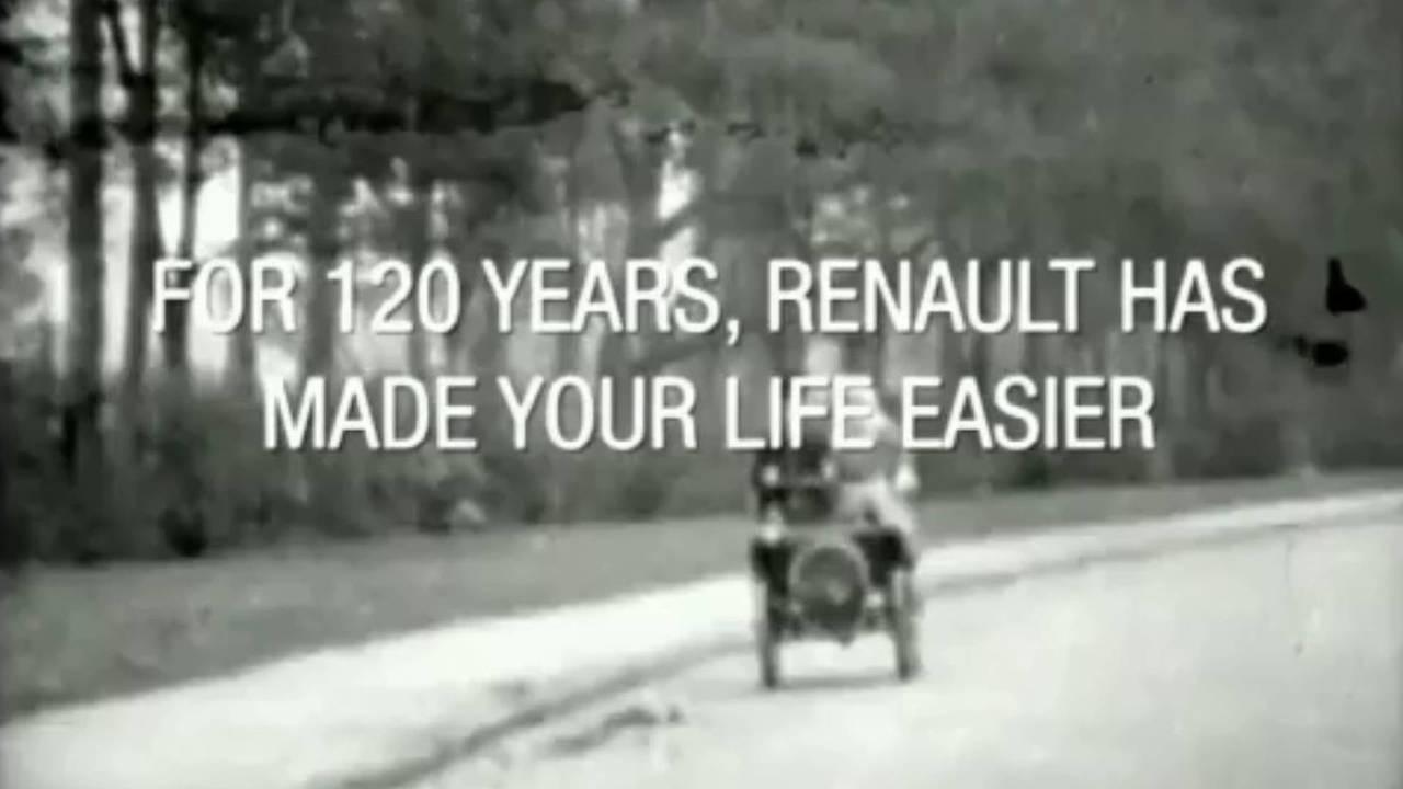 Renault karácsonyi üdvözlet
