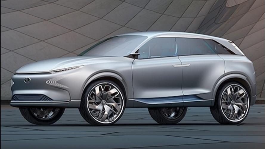 Hyundai FE Concept, la forma dell'acqua