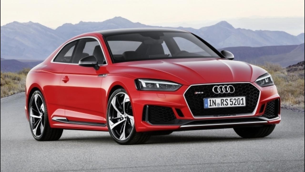 [Copertina] - Nuova Audi RS 5 Coupé, la sportiva Gran Turismo [VIDEO]