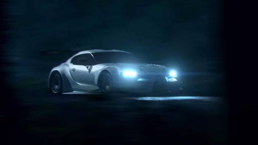 Toyota GR Supra Racing Concept Video Screenshots