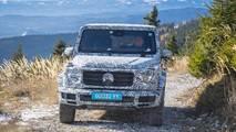 New Mercedes G-Class 2018 passenger ride