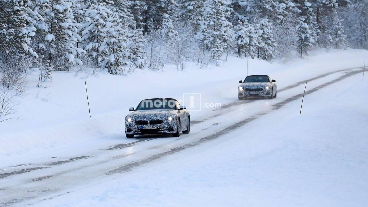 BMW Z4 çifti casus fotoğraf