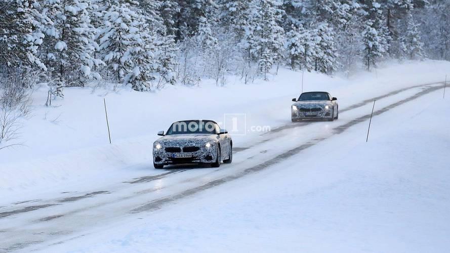 BMW Z4 çifti casus fotoğraflar