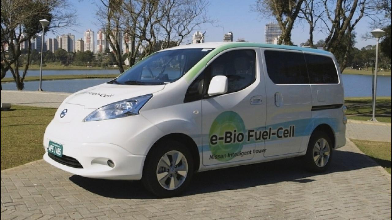 [Copertina] - E' Nissan l'auto a zero emissioni che fa 600 km [VIDEO]
